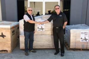 Bob De La Hunty (HARS) and Stephen Byrne (Milspec Services)